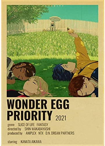 HANJIANGXUE Carteles De Lona 30 Carteles De Anime Tu Nombre/Weathering with You/Bleach/Haikyu Classic Vintage Poster Wall Sticker50 * 70 Cm Fuerte Durabilidad