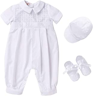 smocked baptism outfit boy