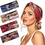 Joinfun diademas mujer turbantes para mujer accesorios cinta pelo bandas para el pelo mujer (B)
