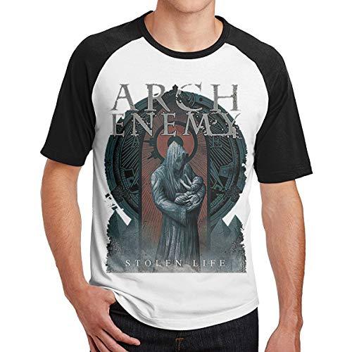 MarySWest Arch-Enemy War Eternal Neues gedrucktes Muster Männer Kurzarm T-Shirt Raglan Männer T-Shirts Baumwolle T-Shirts Tops Hombre