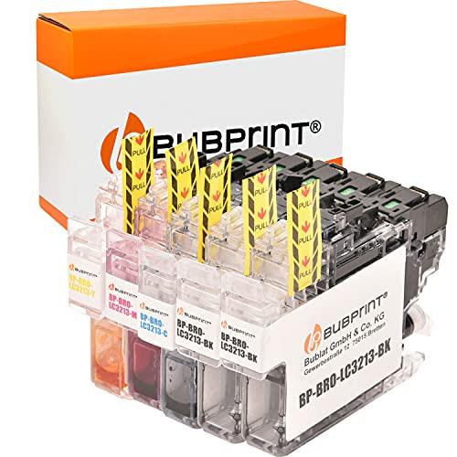 Bubprint Kompatibel Druckerpatronen als Ersatz für Brother LC-3213 XL für DCP-J774DW MFC-J895DW MFC-J890DW DCP-J772DW DCP-J572DW DCP-J770 DCP-J772DNW MFC-J490 MFC-J491DW MFC-J497DW MFC-J890 4er-Pack