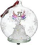 StealStreet SS-UG-HD-0376 Bola de Adorno de Cristal iluminada de Navidad - Rainbow Angel