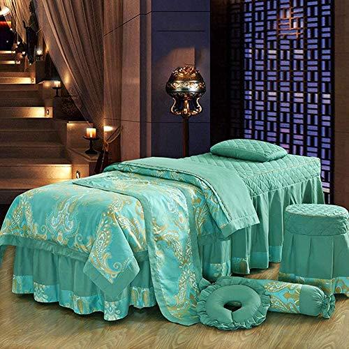 Preisvergleich Produktbild Luxuriöse Bettwäsche setzt Platz Massage Beauty Bettdecke,  Sofabelegatmungs Salon Massageliege Rock Bettdecke, D-180 * 60cm
