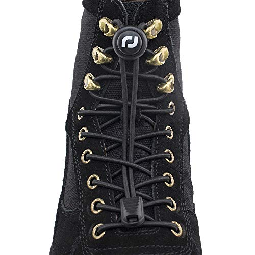 RJ-Sport Elastic Boot Laces - No Tie Boot Laces for Adults, No Tie Shoelaces in 180cm