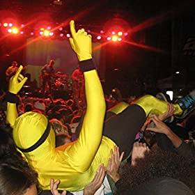 Original Morphsuit Fancy Dress Costume Yellow X Large