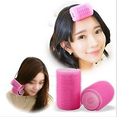 2Pcs/Set Plastic Hair Rollers