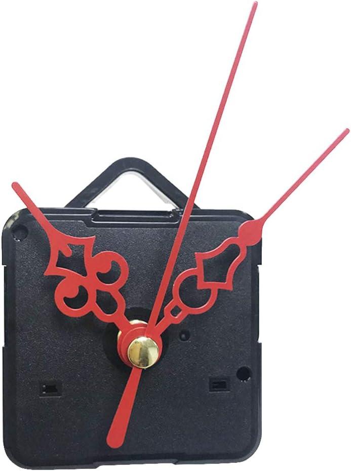 DOITOOL sale DIY Wall Creative Clock Hands Red with Plastic Genuine Mechanism