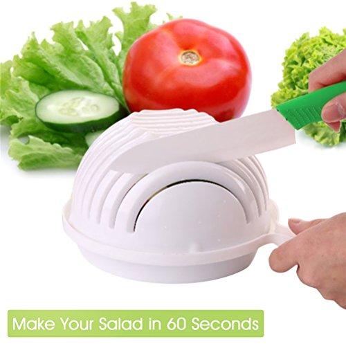 Angeloo Bol à découper les légumes 3 en 1 Découpe en 60 secondes