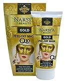 Gold Anti-Wrinkle Peel-off Facial Mask with Q10, D-pantenol