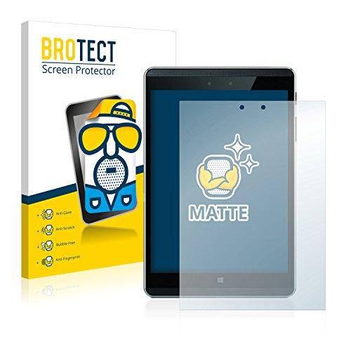 BROTECT 2X Entspiegelungs-Schutzfolie kompatibel mit HP Pro Tablet 608 G1 Bildschirmschutz-Folie Matt, Anti-Reflex, Anti-Fingerprint