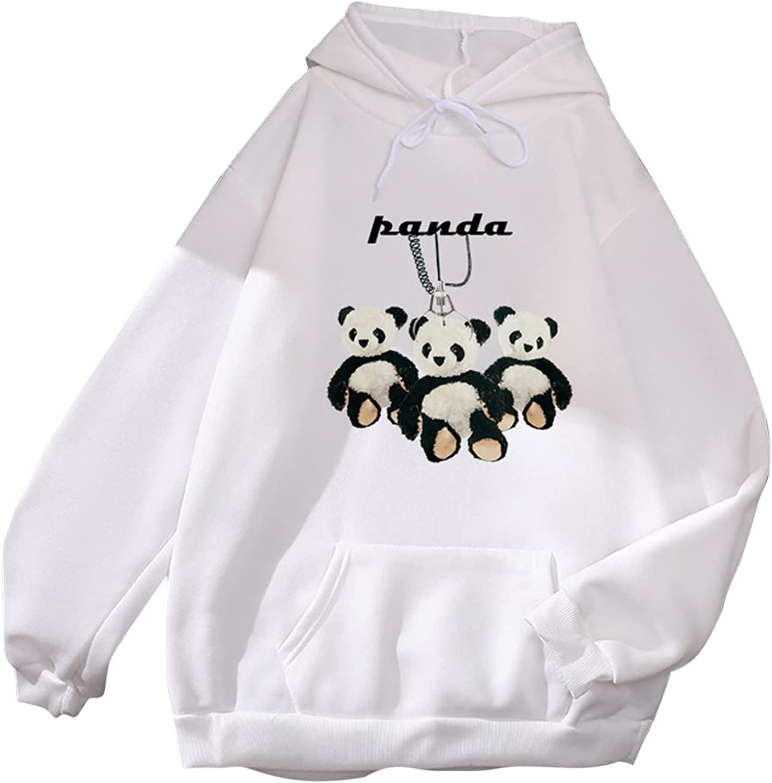 Women's Selling and selling Fall Spasm price Fashion Sweatshirts Casual Long Print Panda Sleeve