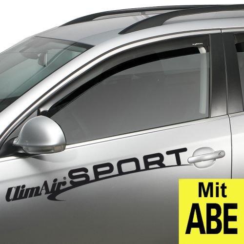 ClimAir 3947 Dark Windabweiser Schwarz passend für Kia Sportage 2016