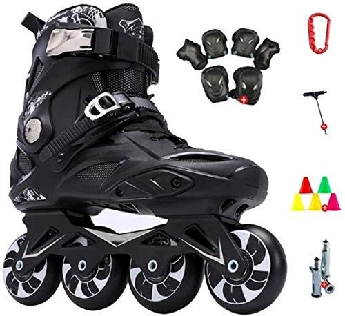THMY Professionelle Rollschuhe Inline-Skates für Erwachsene Eisschnelllaufschuhe Anfänger im Freien Sport für Herren und Damen Rollerblades, C2,43 EU