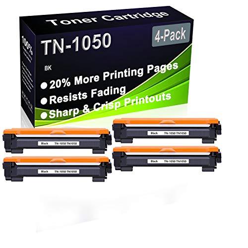 Cartuchos de tóner para impresora Brother HL-1112 HL-1110 HL-1210W HL-1212W DCP-1610 W DCP-1610W DCP-1610W DCP-1512 DCP-1612W DCP-1510W DCP-1612W DCP-1510 (4 unidades)