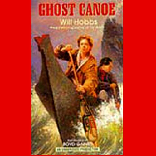 Ghost Canoe audiobook cover art