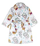 100% Polyester Machine Wash Extra soft and easy to care for loungewear; Sublimated graphics Ties at waist; 2 functional pockets; Belt attached in back Sleepwear tailored in flame resistant fabric for fire safety