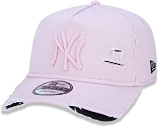 d39b4de17 BONE 940 NEW YORK YANKEES MLB ABA CURVA ROSA NEW ERA