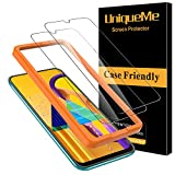 UniqueMe [2 Pack] Cristal Templado para Samsung Galaxy M30s / A50s, Protector de Pantalla [9H Dureza ] [Sin Burbujas] HD Film Vidrio Templado para Samsung Galaxy M30s / A50s