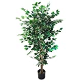 Artificial Ficus Tree with...