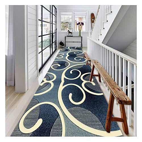 LSK Alfombra Alfombras Pasillo de la Alfombra Pasillo Pasillo Tiras de la casa se Usan Las alfombras para Proteger el Piso de una fácil Limpieza y Cuidado Cocina Sala Estar Dormitorio (Size : 0.6X3M)
