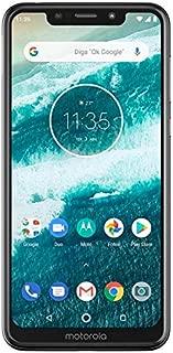 Motorola One XT1941-3 32B Unlocked GSM Dual-SIM Phone w/Dual 13+2 Megapixel Camera - White