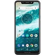 Motorola Moto One - Android One - 64 GB - 13+2 MP Dual Rear Camera - Dual SIM Unlocked Smartphone...