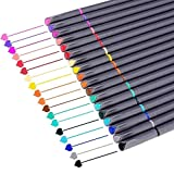 iBayam Journal Planner Pens Colored Pens Fine Point Markers Fine Tip Drawing Pens Porous Fineliner...