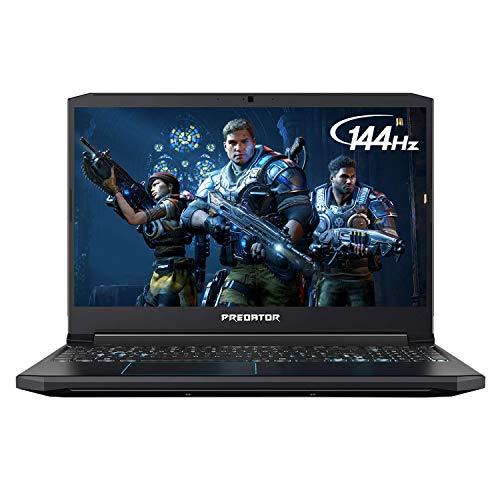 Acer 2019 Predator Helios 300 15.6 Inch FHD Gaming Laptop (9th Gen Intel 6-Core i7-9750H up to 4.5 GHz, 16GB RAM, 256GB PCIe SSD + 2TB HDD, Backlit Keyboard, GTX 1660 Ti, WiFi, Bluetooth, Win 10)