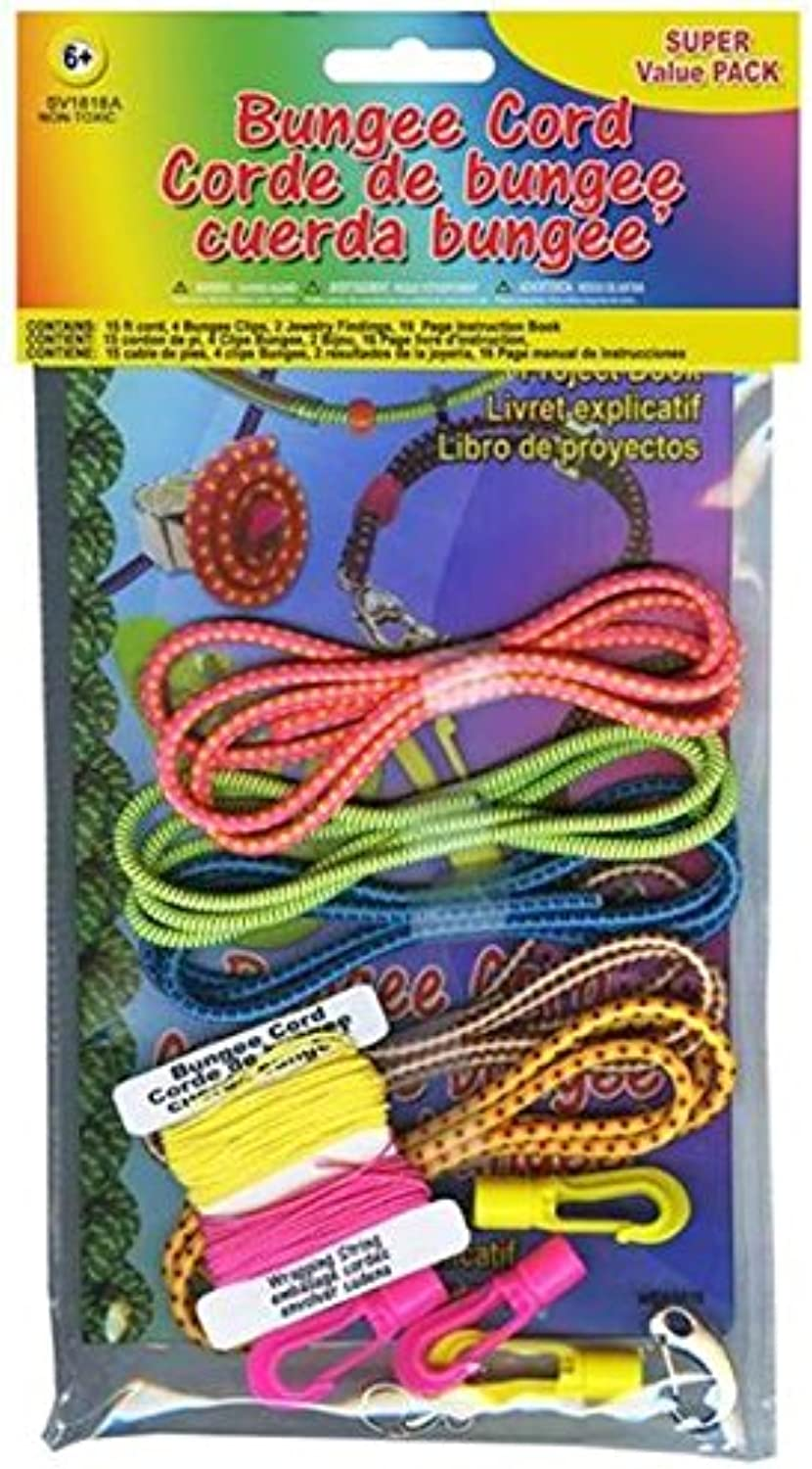 Pepperell Various Bungee Cord Super Value PackNeon's