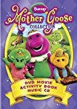 Barney: Mother Goose Collection - DVD Movie / Activity Book / Music CD