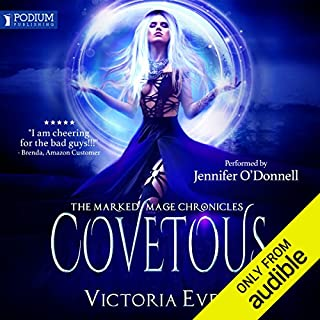 Covetous audiobook cover art