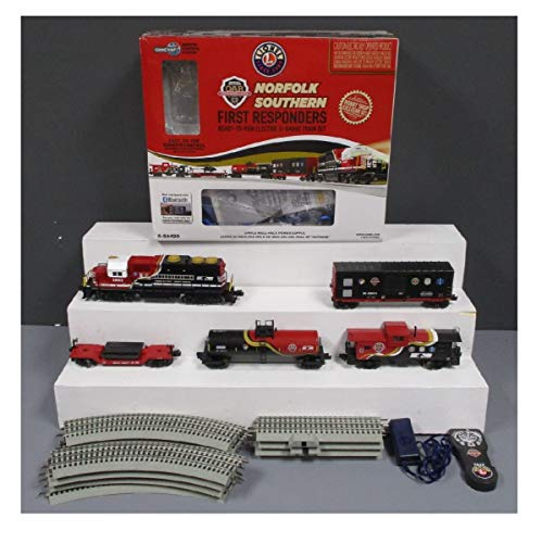 LIONEL NS FIRST RESPONDER SET W/BT
