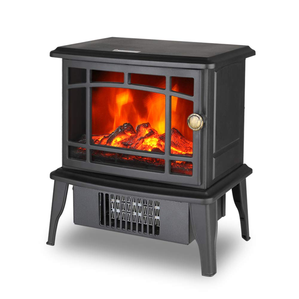 Climate Choice Fireplace Electric Antique