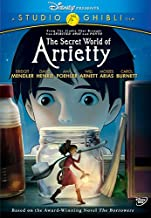 secret world of arrietty dvd