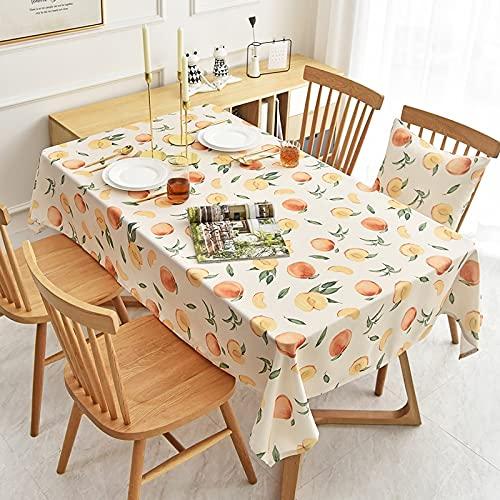 XXDD Mantel Rectangular Impermeable y Resistente al Aceite, Mantel desechable para el hogar, Mesa de Comedor, Mantel de café, A5 140x160cm
