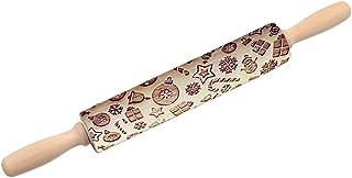 Zoomarlous Teigroller, Nudelholz, Rolling Pin, Muster Prägu