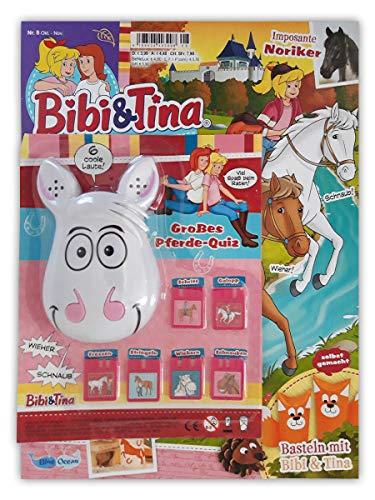 Bibi & Tina Sammelmagazin Nr. 8/2019 Comics Rätsel Poster und großes Pferde-Quiz