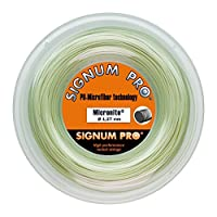 シグナムプロ(SIGNUM PRO) テニスガット ロール マイクロナイト(MICRONITE) 132 ナチュラル micronite132