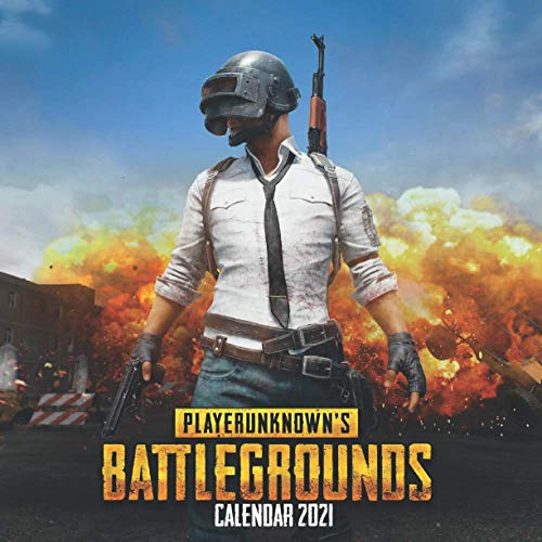 PlayerUnknown's Battlegrounds Calendar 2021: Pubg Calendar with 16 Months & Posts. From january 2021 to April 2022