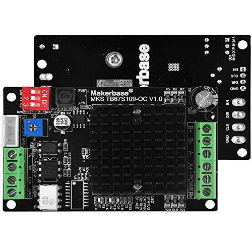 KOOKYE TB67S109_OC External Driver Support High current and 1 to 32 miscrosteps silent motor Driver for 3D Printer