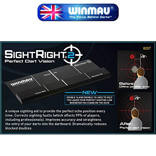 Winmau SightRight  2  Perfect Dart Vision