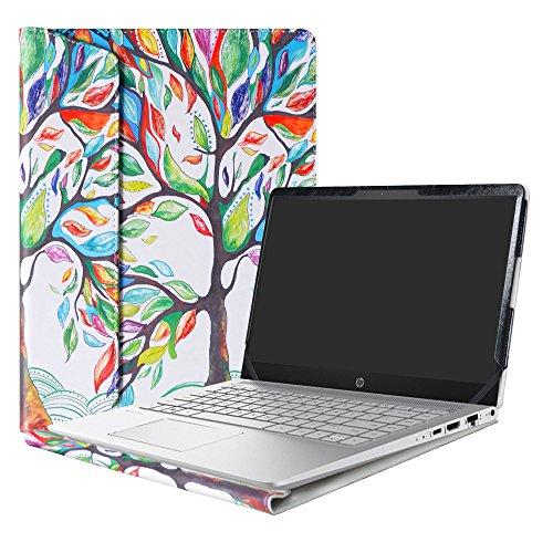 Alapmk Protective Case for 14' HP Pavilion 14 14-bfXXX 14-ceXXX/Pavilion x360 14 14-cdXXXX 14M-cdXXXX 14-dhXXXX Laptop(Not fit Pavilion 14 14-bkXXX 14-bXXX/Pavilion 14 x360 14-baXXX),Love Tree