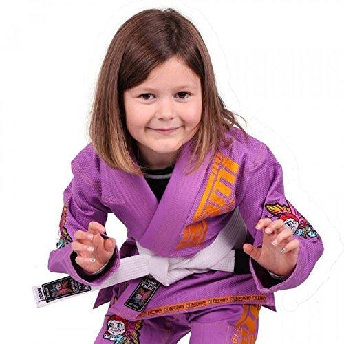 Tatami Fightwear New meerkatsu Kids Animal GI–Lila–M000