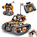 OASO Remote Control STEM Building Kit for Boys 8-12, 392 Pcs Science Learning Educational Building Blocks for Kids, 3 in 1 Tracked Racer RC Car/Tank/Robot Toys Gift Sets for Boys Girls
