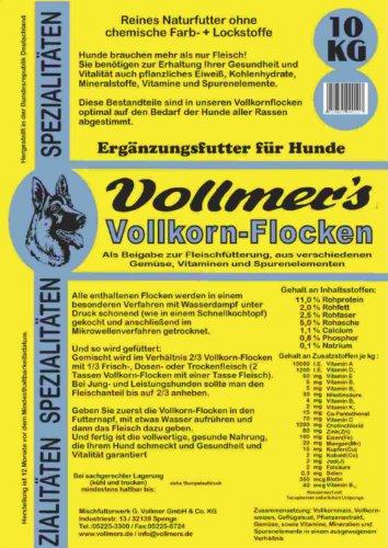 Vollmers Vollkornflocken 15 kg - Hundefutter