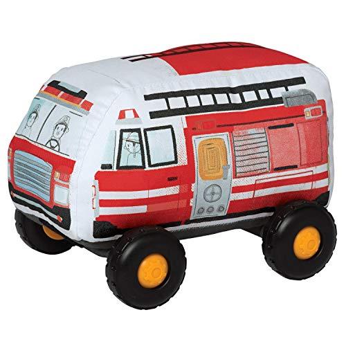 Manhattan Toy Bumpers Firetruck Véhicule Jouet pour Tout-Petits, 216190, Multicolore