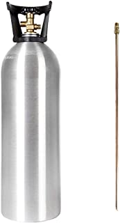 Best 20 lb co2 tank with siphon tube Reviews