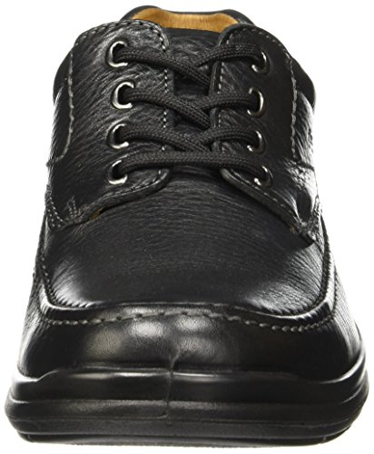Flexi Scandic 68901 Men's Genuine Black Leather Oxford | Comfort Walking Shoes | Handmade in Mexico