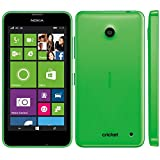 Nokia Lumia 630 Windows Prepaid SmartPhone, Carrier Locked to Cricket Wireless, No Contract