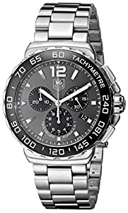TAG Heuer Men's CAU1115.BA0858 Formula 1 Gray Dial Stainless Steel Watch Reviews and Now and review